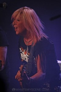 Girlschool, The Croxton, Melbourne 29th June 2019 by Paul Miles (23 of 29)
