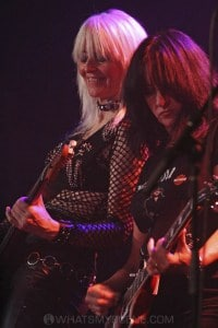 Girlschool, The Croxton, Melbourne 29th June 2019 by Paul Miles (27 of 29)