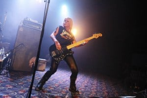 Girlschool, The Croxton, Melbourne 29th June 2019 by Paul Miles (3 of 29)