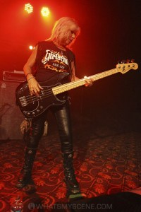 Girlschool, The Croxton, Melbourne 29th June 2019 by Paul Miles (5 of 29)