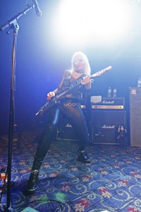 Girlschool, The Croxton, Melbourne 29th June 2019 by Paul Miles (7 of 29)