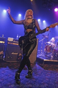 Girlschool, The Croxton, Melbourne 29th June 2019 by Paul Miles (8 of 29)