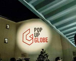 Pop Up Globe Theatre Gala Opening