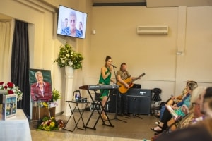 Andrew 'Greedy' Smith's funeral service, Maquarie Park 9th December 2019 by Mandy Hall-13