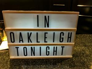 In Oakleigh Tonight