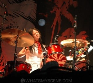 Meg White of the White Stripes by Mary Boukouvalas
