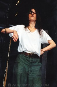 Patti Smith by Mary Boukouvalas