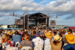 James Reyne at By the C - Don Lucas Reserve Cronulla, 6th March 2021 by Mandy Hall (25 of 26)