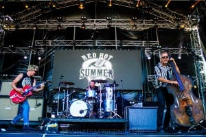 The Living End - Mornington Racecourse, Melbourne 19th Jan 2019 by Paul Miles (10 of 31)