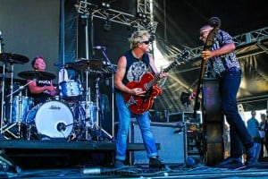 The Living End - Mornington Racecourse, Melbourne 19th Jan 2019 by Paul Miles (15 of 31)