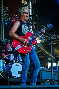 The Living End - Mornington Racecourse, Melbourne 19th Jan 2019 by Paul Miles (19 of 31)