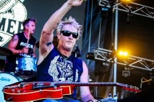 The Living End - Mornington Racecourse, Melbourne 19th Jan 2019 by Paul Miles (26 of 31)