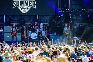 The Living End - Mornington Racecourse, Melbourne 19th Jan 2019 by Paul Miles (30 of 31)