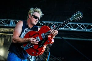 The Living End - Mornington Racecourse, Melbourne 19th Jan 2019 by Paul Miles (7 of 31)