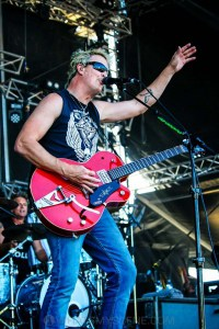 The Living End - Mornington Racecourse, Melbourne 19th Jan 2019 by Paul Miles (8 of 31)