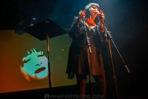 Lydia Lunch at the Curtin, Carlton 6th July 2019 by Mandy Hall (19 of 22)