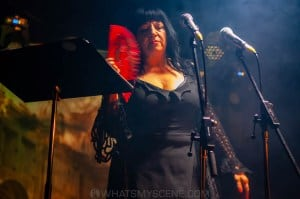 Lydia Lunch at the Curtin, Carlton 6th July 2019 by Mandy Hall (21 of 22)