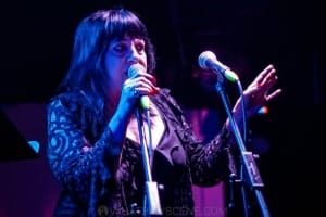 Lydia Lunch at the Curtin, Carlton 6th July 2019 by Mandy Hall (6 of 22)