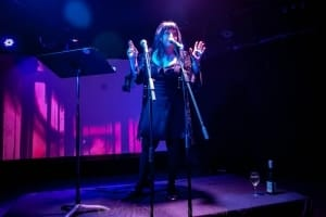 Lydia Lunch at the Curtin, Carlton 6th July 2019 by Mandy Hall (7 of 22)