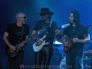 G3 - Joe Satriani, Steve Vai & John Petrucci - Princess Theatre - 3rd Dec 2006