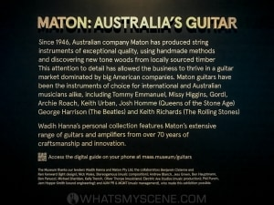 Maton Guitar Exhibition, Powerhouse Museum, Ultimo NSW 3rd August 2020 by Mandy Hall (26 of 26)
