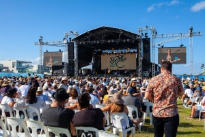 Pete Murray at By the C - Don Lucas Reserve Cronulla, 6th March 2021 by Mandy Hall (14 of 24)