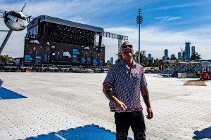 Robbie Williams World Tour Media Call, Lakeside Stadium, 2020 Grand Prix, 12th March 2020 by Mandy Hall (10 of 25)