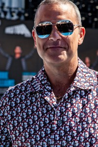 Robbie Williams World Tour Media Call, Lakeside Stadium, 2020 Grand Prix, 12th March 2020 by Mandy Hall (13 of 25)