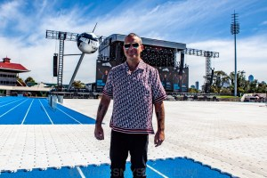 Robbie Williams World Tour Media Call, Lakeside Stadium, 2020 Grand Prix, 12th March 2020 by Mandy Hall (15 of 25)