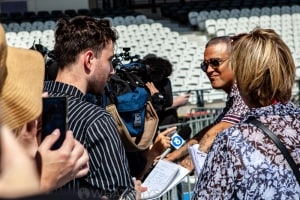 Robbie Williams World Tour Media Call, Lakeside Stadium, 2020 Grand Prix, 12th March 2020 by Mandy Hall (19 of 25)