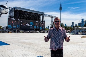 Robbie Williams World Tour Media Call, Lakeside Stadium, 2020 Grand Prix, 12th March 2020 by Mandy Hall (7 of 25)