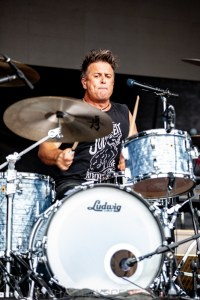 The Living End RHS, Mornington Racecourse 18th January 2020 by Mandy Hall (13 of 33)