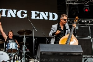 The Living End RHS, Mornington Racecourse 18th January 2020 by Mandy Hall (15 of 33)