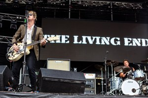 The Living End RHS, Mornington Racecourse 18th January 2020 by Mandy Hall (23 of 33)