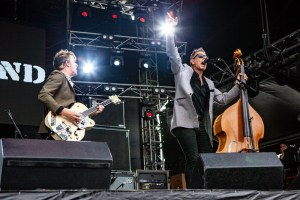 The Living End RHS, Mornington Racecourse 18th January 2020 by Mandy Hall (25 of 33)
