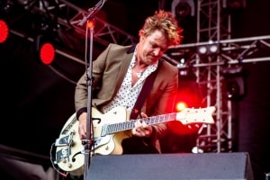 The Living End RHS, Mornington Racecourse 18th January 2020 by Mandy Hall (26 of 33)