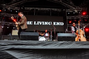 The Living End RHS, Mornington Racecourse 18th January 2020 by Mandy Hall (27 of 33)