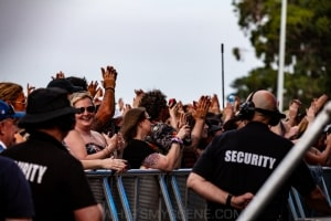 The Living End RHS, Mornington Racecourse 18th January 2020 by Mandy Hall (2 of 33)