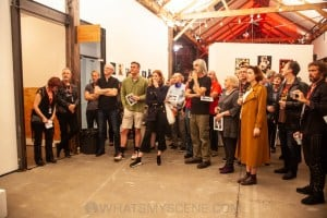 Wendy McDougall Exhibition Opening, SunStudios Alexandria, 3rd April 2019 by Mandy Hall (2 of 19)