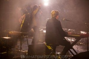 Ross Wilson in the rain