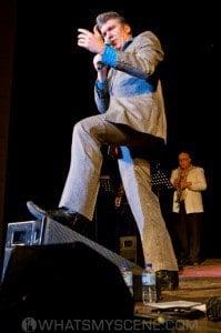 Mikelangelo as The Balkan Elvis
