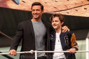 Pan media call - Hugh Jackman & Levi Miller.