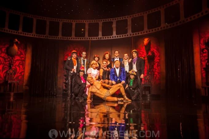 Snap Scene Rocky Horror Show Media Call Comedy Theatre Melbourne