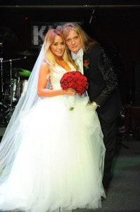Sebastian Bach's Rockstar wedding