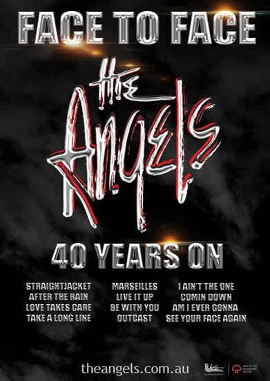 Scene News: The Angels announce their Face To Face Anniversary Tour for 2018 - 40 Years On